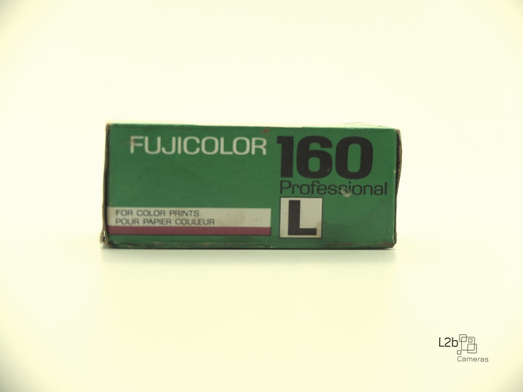 Fujifilm Fujicolor 160 L 120 Expired Professional film
