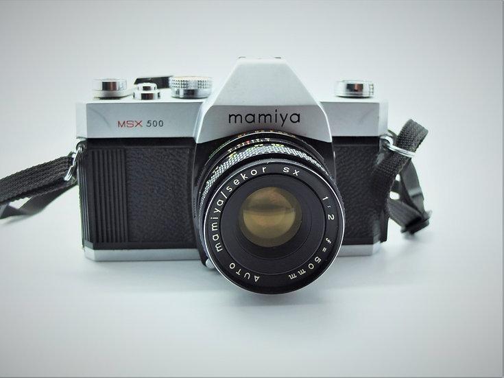 Mamiya MSX 500 SLR 35mm Camera & Lens