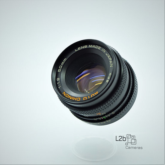 Chinon f/1.9 50mm  Prime Pentax PK Mount Lens
