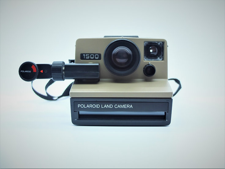 Polaroid 1500 Vintage Instant Camera, Accessories & Case