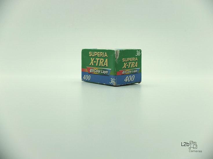 Fujifilm X-TRA  Superia 400 35mm Expired Colour Film