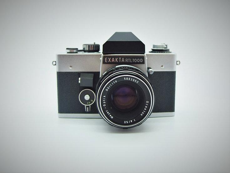 Exakta RTL 1000 35mm SLR Camera & Lens
