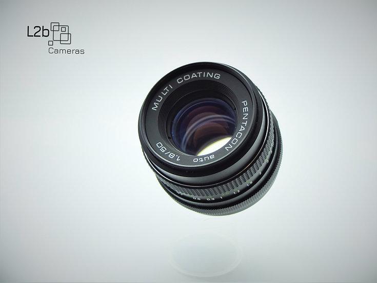 Pentacon f/1.8 50mm M42 Prime Lens