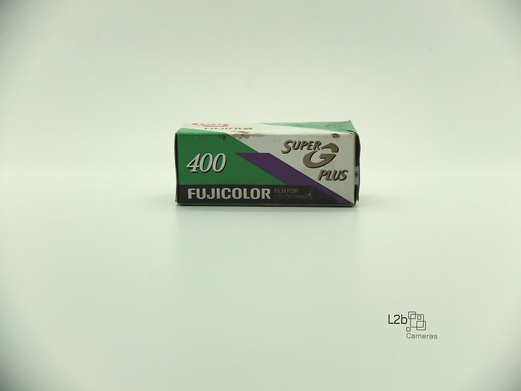 Fujifilm Fujicolor 400 Super G Plus 120 Expired Film