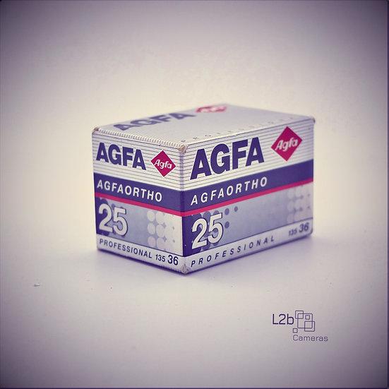 Agfa Ortho 25 Professional 135 36 Exp Expired Film Boxed