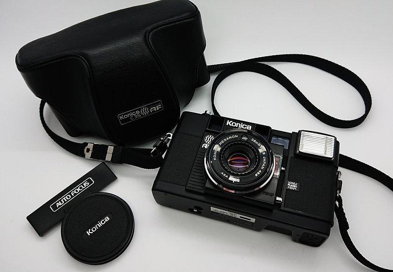 Konica C35 AF 35 mm Camera & Case