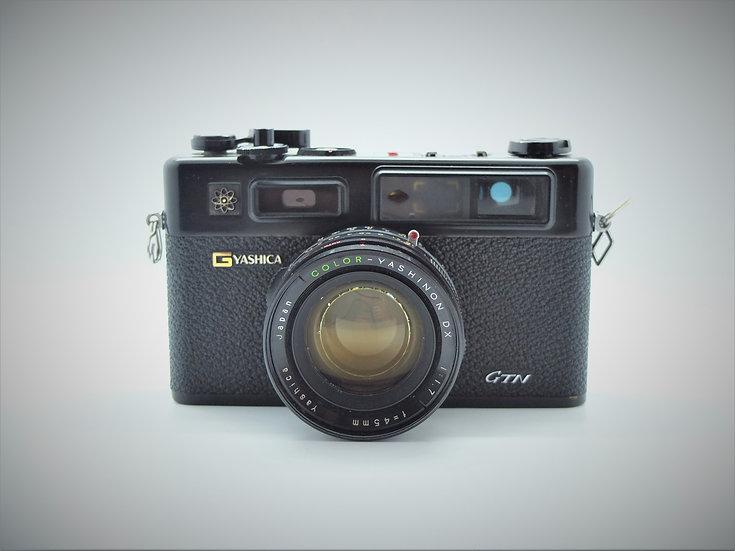 Yashica 35 GTN Electro Rangefinder Camera & Case