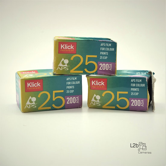 Click Photopoint APS 200 25 Exposures Expired film