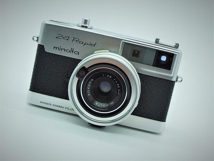 Minolta 24 Rapid 35mm Camera
