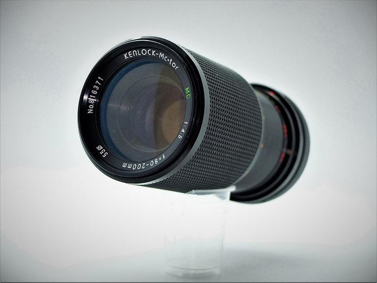 Kenlock-Mc-tor f/4.5 80-200mm FD Macro Zoom Lens