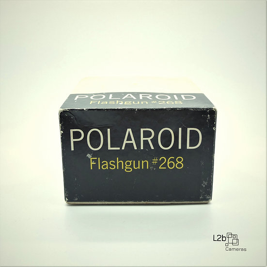 Polaroid Flashgun #268 Vintage Flash Boxed