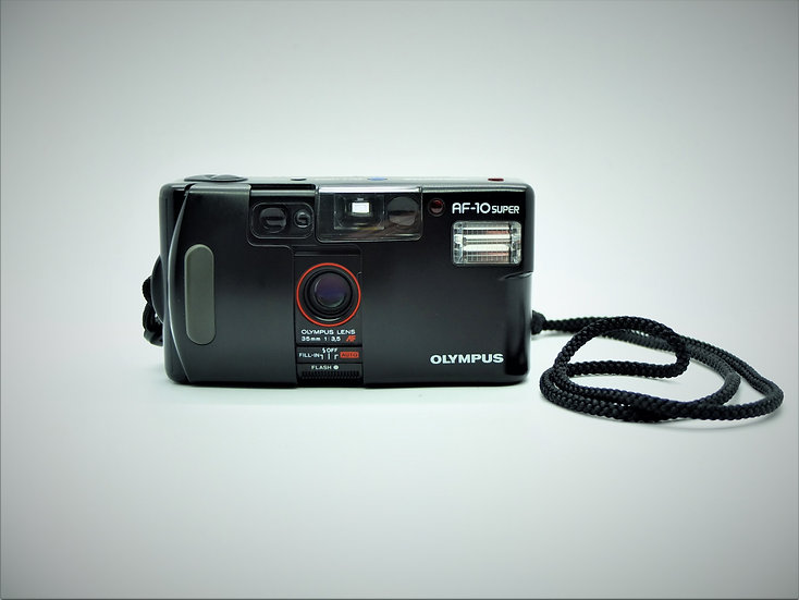Olympus AF10 Super 35mm Point & Shoot Camera