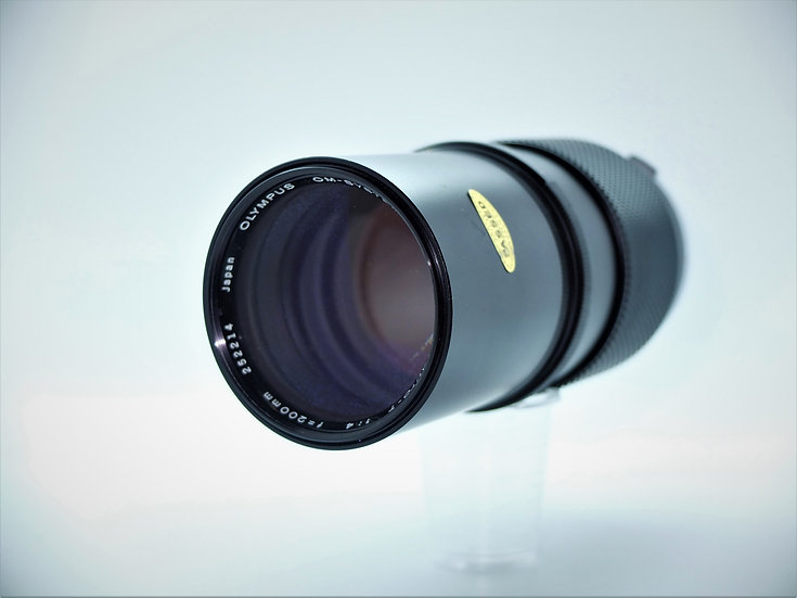 Olympus Zuiko f/4 200mm Telephoto OM Lens