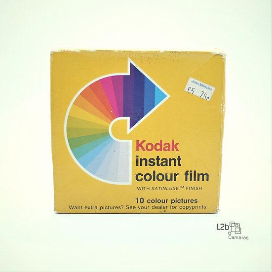 Kodak Instant Colour film PR10 New (Un-opened box)