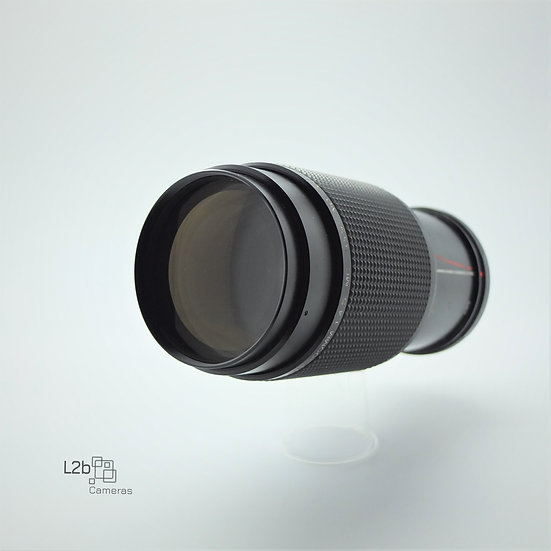 Vivitar f/4.5 80-200mm Pentax K Zoom Lens