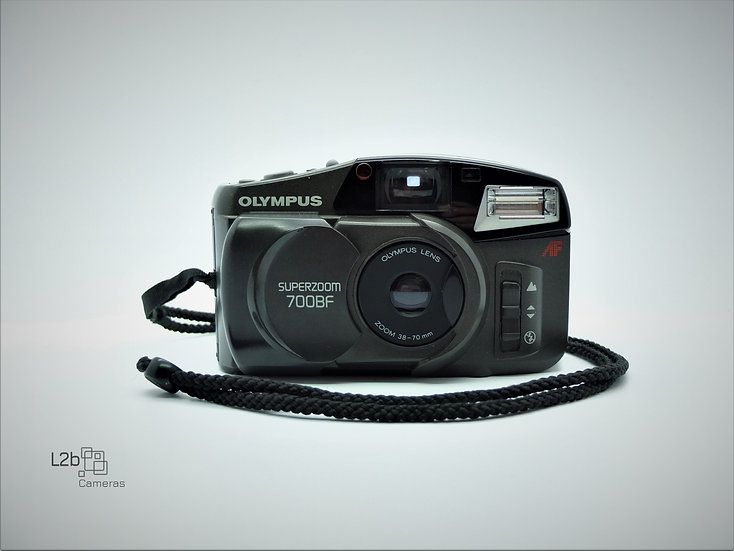 Olympus Super Zoom 700BF 35mm Point & Shoot Camera