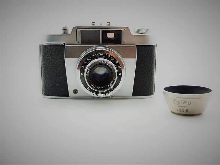 Agfa Silette 1950s 35mm Camera & Case