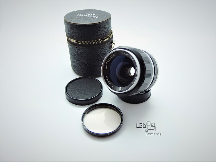 Hanimex f/2.8 35mm Wide Angle Minolta SR Mounted Lens