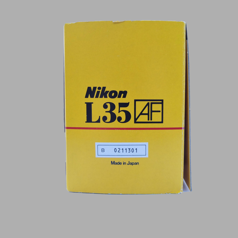 Nikon L35AF box