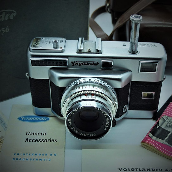 Voigtlander Vitessa-T 35mm Rangefinder Camera