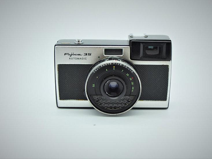 Fujica 35 Automajic 35mm Film Camera & Case