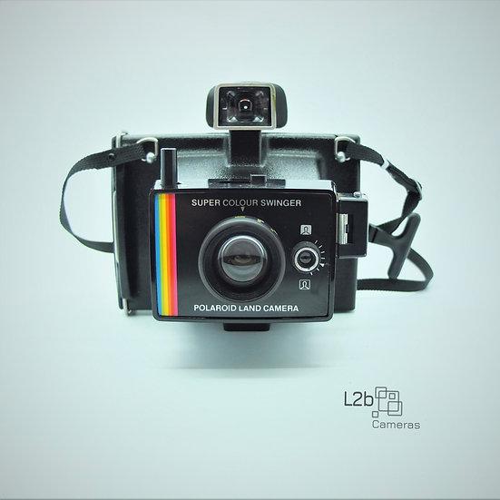 Polaroid Super Colour Swinger Camera & Case