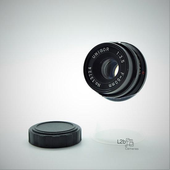 UNIGOR f/3.5 F=50mm M39 Mounted Lens