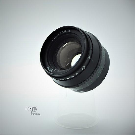 Jupiter-8 50mm f/2 LSM M39 Fast Prime Lens