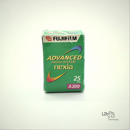 Fujifilm Nexia APS Advanced photo System A200 Expired Film