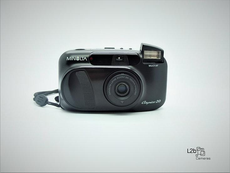 Minolta Capios 20 Multi AF Panorama Point & Shoot 35mm Camera