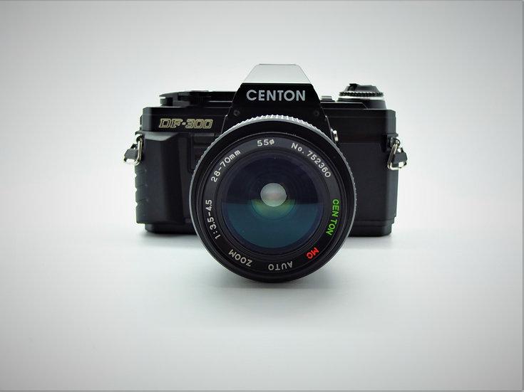 CENTON DF-300 SLR 35mm Camera & Lens