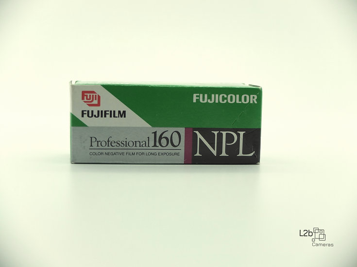 Fujifilm 160 Professional NPL 120 Roll Film Expired