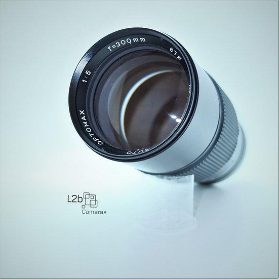 Optomax f/5 300mm Zoom M42 Lens