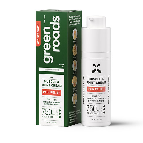 Muscle and Joint Relief Heat Roll-On - 750 mg