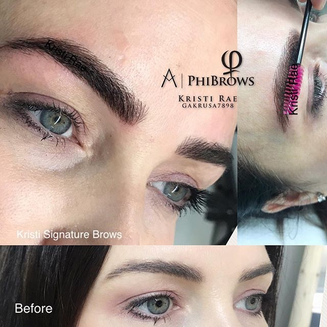 Loving these big Bold Combination Brows