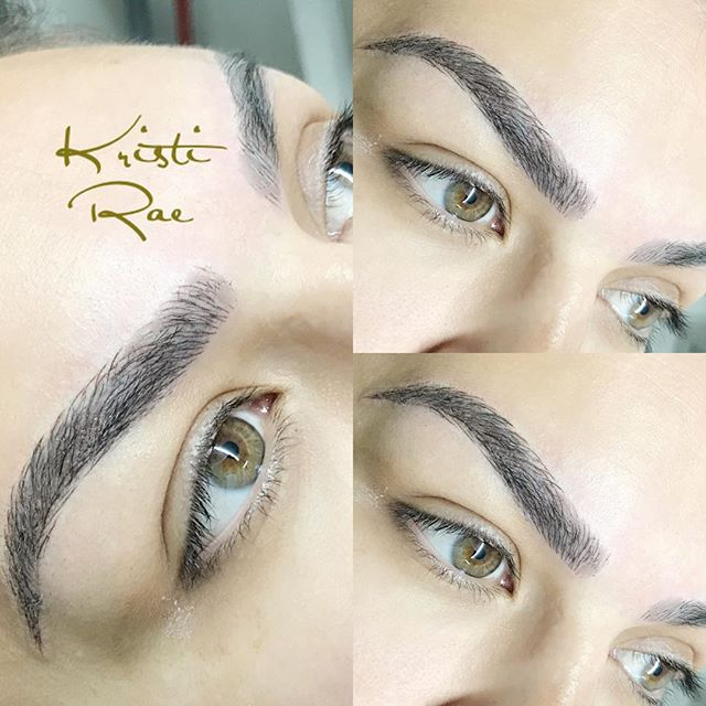 Love these big beautiful brows! 😍 #micr