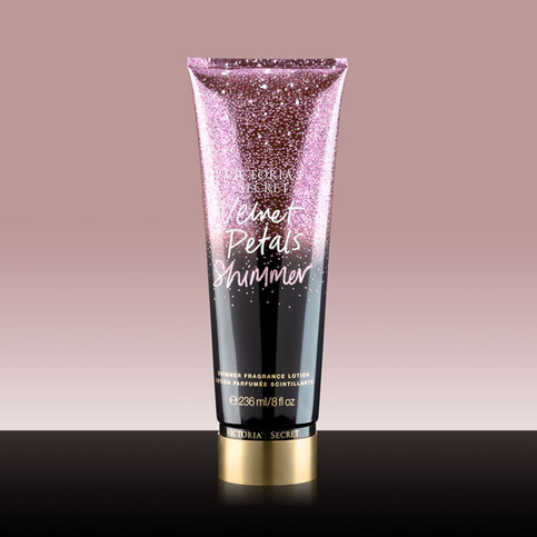 fotoceny fotografia produktowa kosmetyki balsam Victoria's Secret Velvet Petals Shimmer