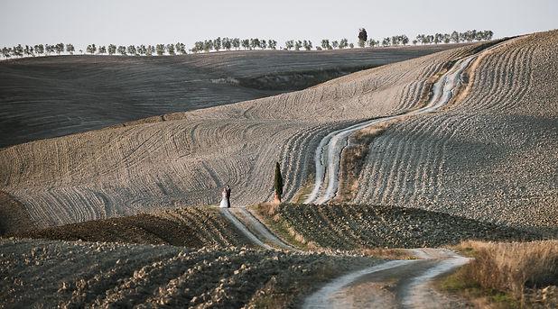 fotografia ślubna sesja plenerowa w Toskanii