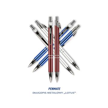 fotografia produktowa materiały biurowe długopis metalowy Lux Penmate