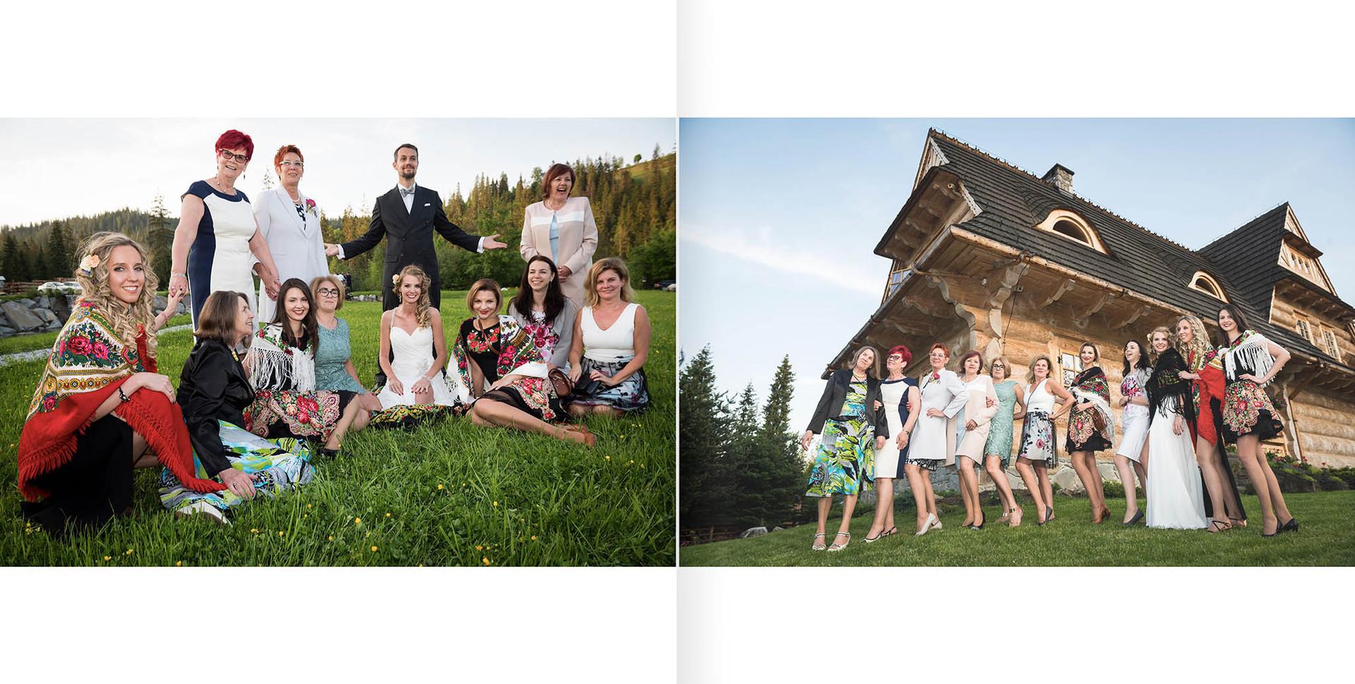 Sesja ślubna - fotosiążka 30x30cm
