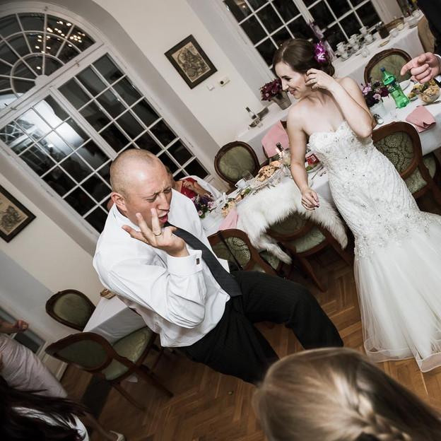 Przyjęcie weselne by Fotosceny