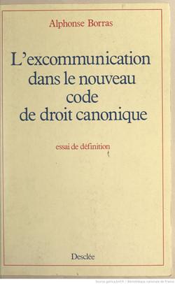 Borras excommunication