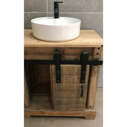Sliding Barn Door Vanity