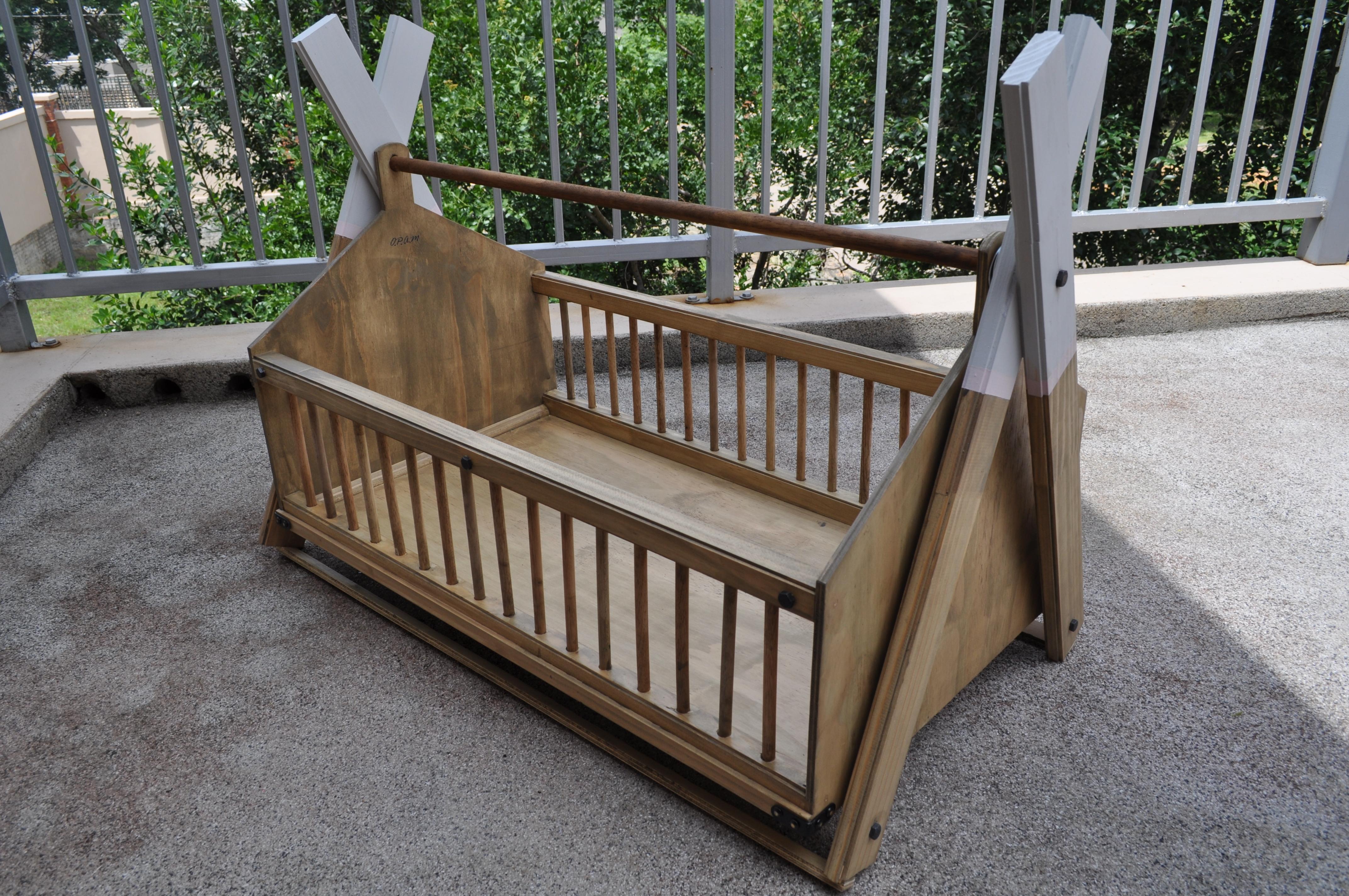 Custom Wooden Baby Cribs