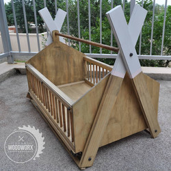 Custom Wooden Baby Cribs