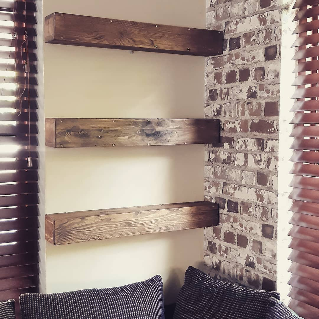 Farmhouse Floating Shelves