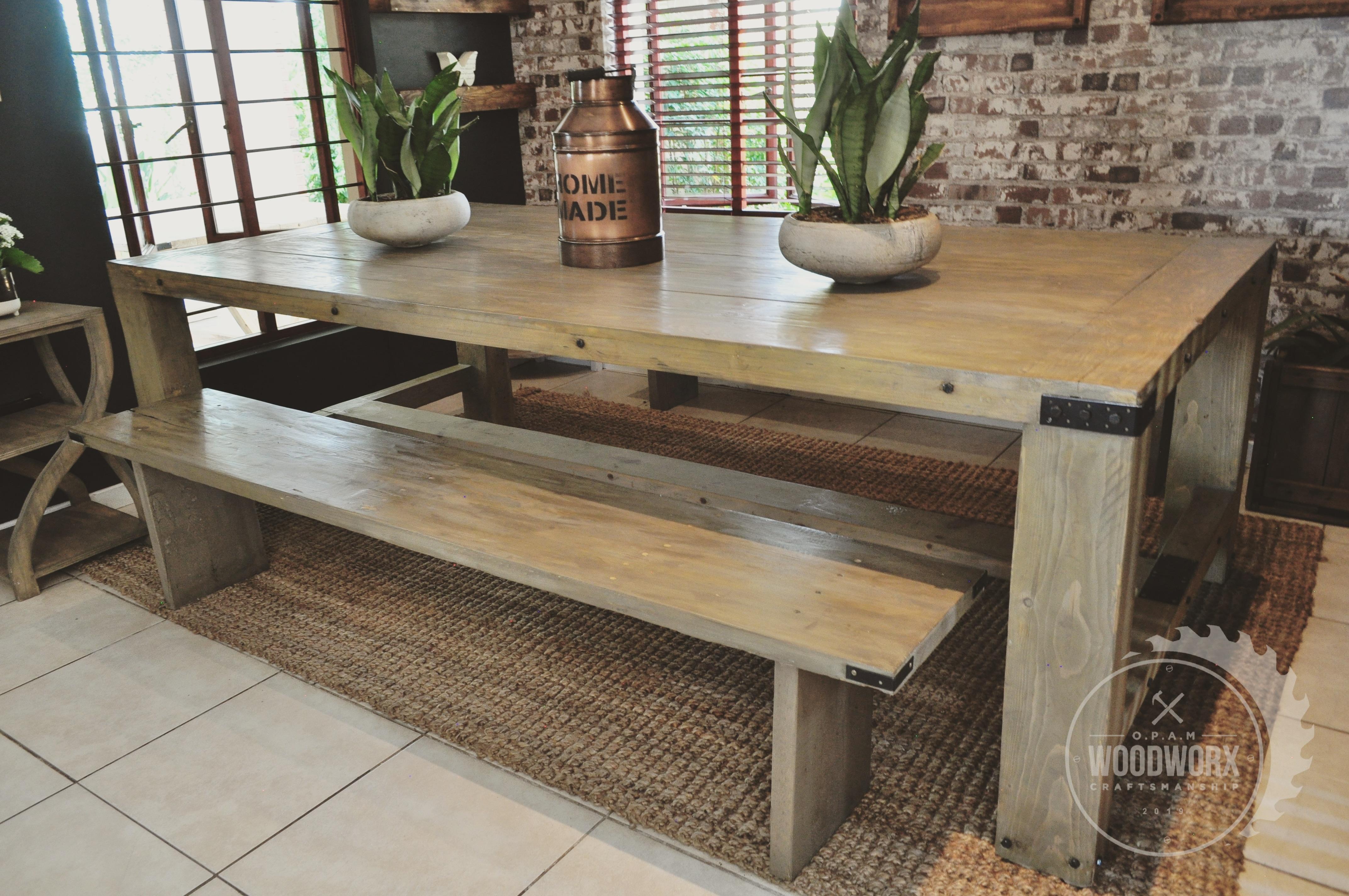 Rustic Farmhouse Table
