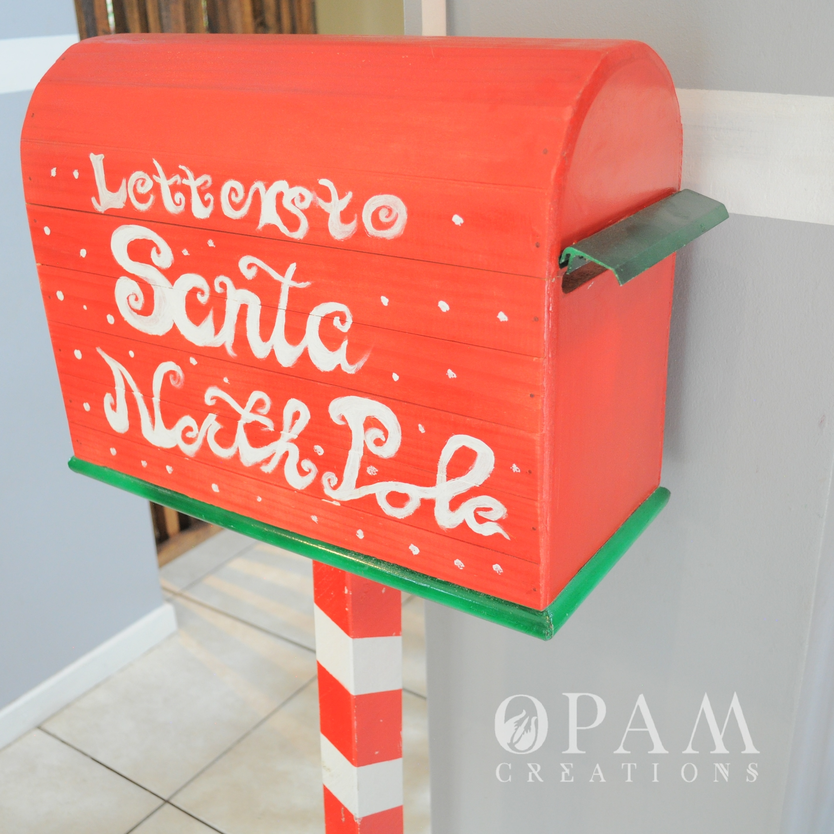 Santa North Pole Mail Box