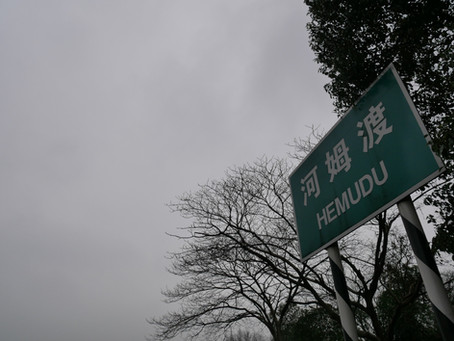 Sito Hemudu vicino a Ningbo