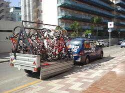 Medbikes trailer